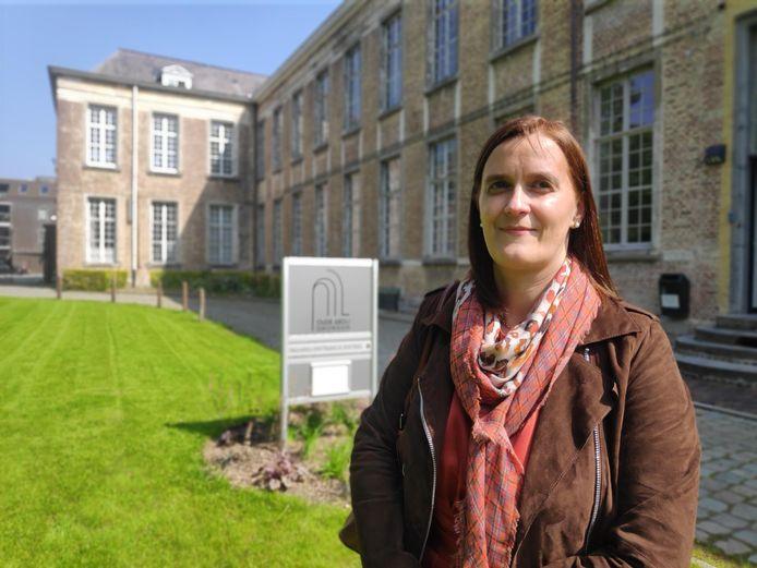 Directrice Liesbeth Van den Bossche kijkt uit naar de nieuwe bewoners die binnenkort intrekken in de abdij.