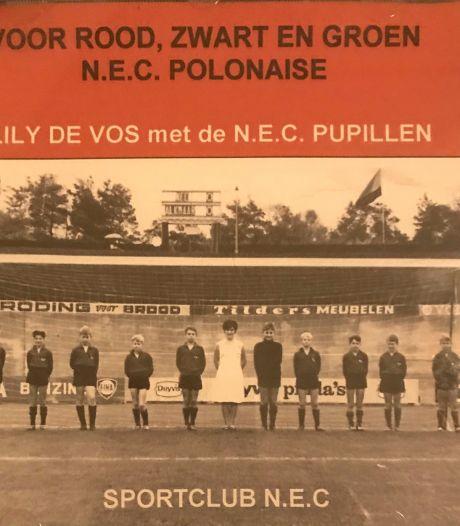 Afscheid van Lily de Vos (96), de zangeres van hét NEC-lied 'Voor rood, zwart en groen'