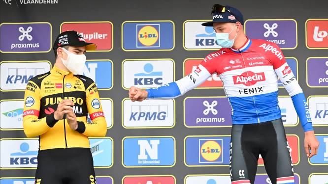 """Wordt Van der Poel dé man van het voorjaar? """"Mentaal blijkbaar zéér belangrijk geweest dat hij Van Aert kon kloppen in de Ronde"""""""