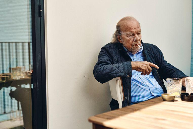 Hugo Camps: 'Ik vind het jammer om te zien hoe er onder kranten en tijdschriften tegenwoordig een opbod ontstaat bij pakweg een moordpartij. Dat kan toch niet?'  Beeld Thomas Nolf