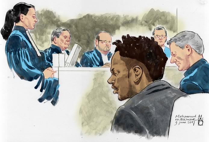 Mohammed M. in de rechtbank van Alkmaar