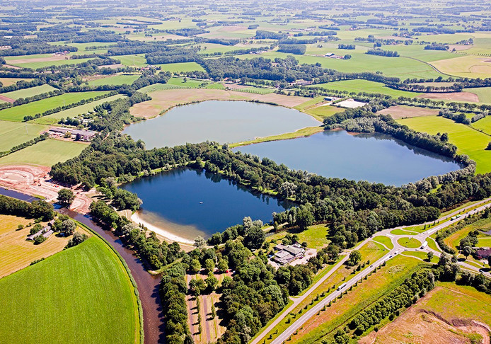 De Hambroekplas in Borculo wordt flink gepimpt.