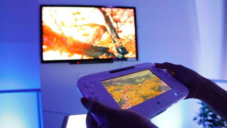 Een demonstratie van de Wii U. Beeld reuters