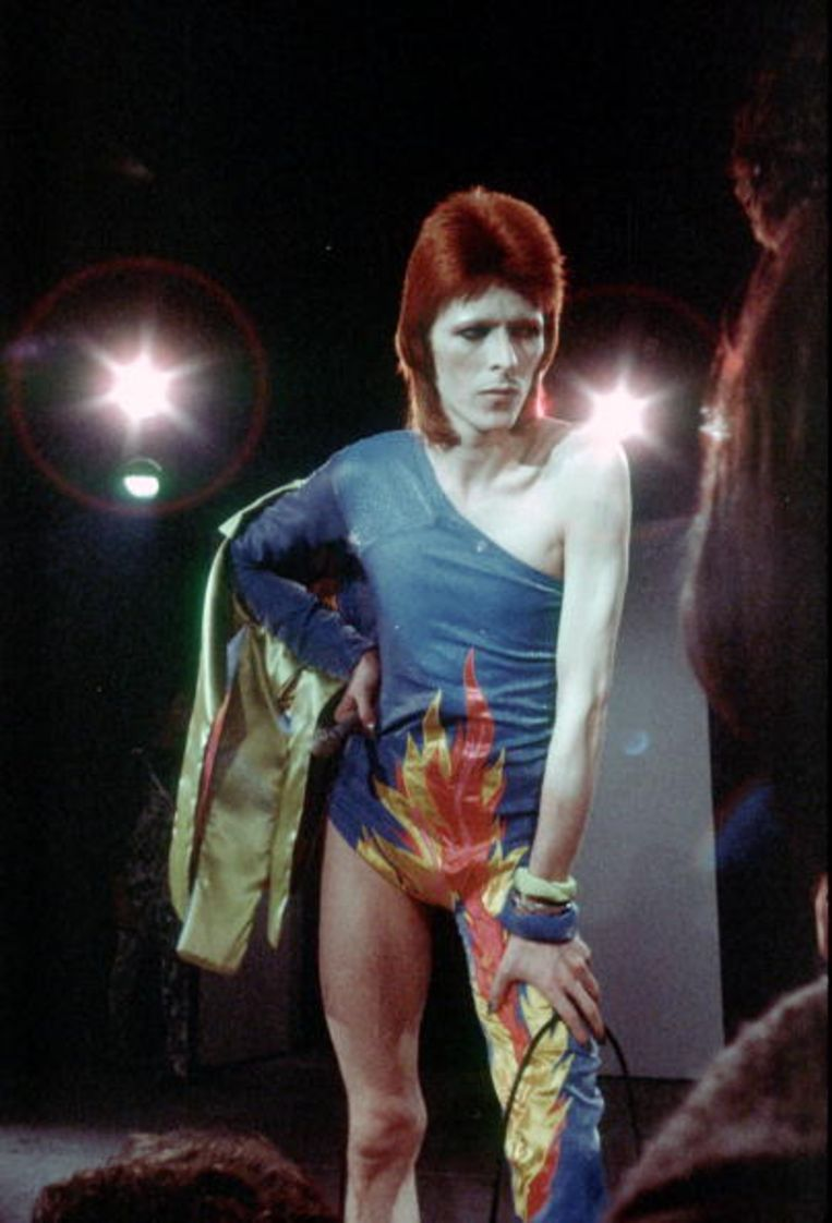 Over David Bowie: