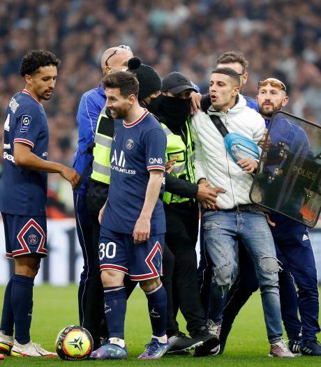 Messi krijgt fan achter zich aan tijdens heet avondje in Marseille