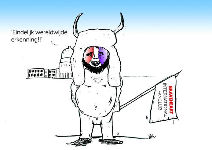 De bestorming van het Amerikaanse Capitool door de ogen van Sven De Potter.