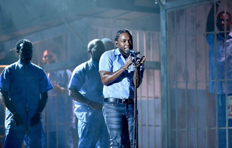 Kendrick Lamar. Beeld Getty Images for NARAS