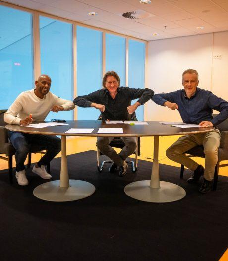Sportbedrijf, Uitsmijters en Almelo FC tekenen contract voor 'derde helft' in IISPA