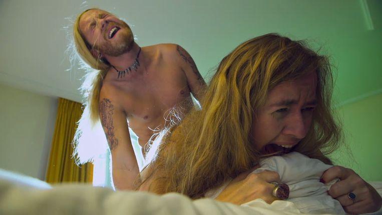 Rik Verheye als Jay Vleugels in 'Callboys'. Beeld VIER