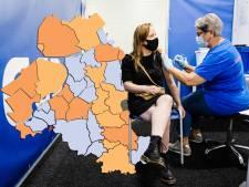 KAART | Hardste stijging nieuwe besmettingen nu in Zeewolde, Nijkerk en Staphorst