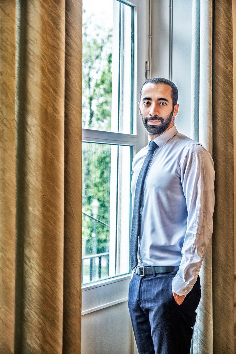 Staatssecretaris voor Asiel en Migratie Sammy Mahdi (CD&V). 'Het enige wat ik kan doen, is absolute duidelijkheid geven: er komt geen collectieve regularisatie.' Beeld Tim Dirven