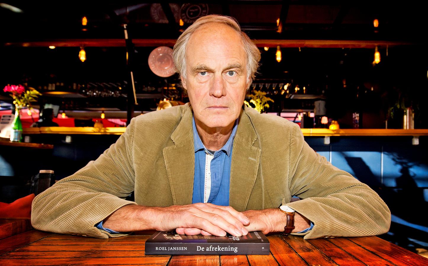 Roel Janssen auteur van het boek De Afrekening