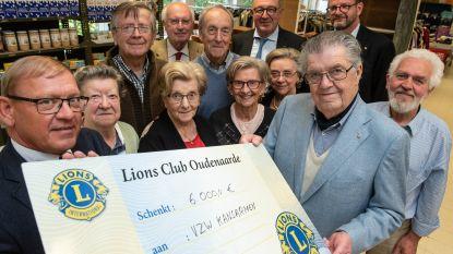 Lions Club Oudenaarde schenkt 6.000 euro aan vzw Kansarmen