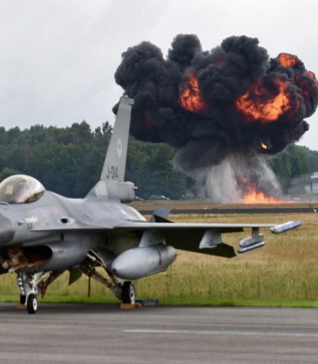 Het mooiste beeld van dag twee van de luchtmachtdagen