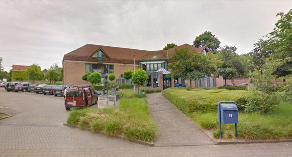 De bibliotheek van Temse in de Oeverstraat.
