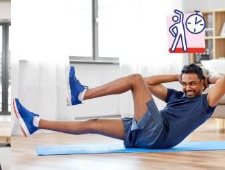 Lieven Maesschalck geeft je de beste work-out voor armen en benen: zo geraak je ook thuis in 3 weken fit