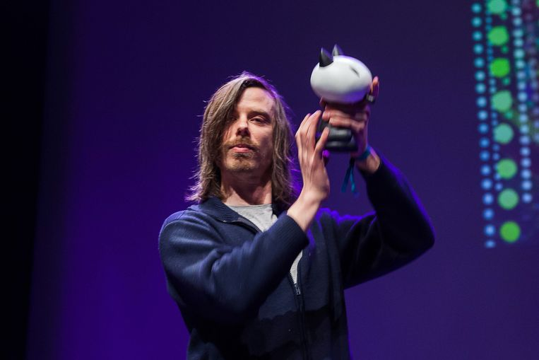 Brecht Evens won in Angoulême de Prix spécial du jury. Beeld AFP