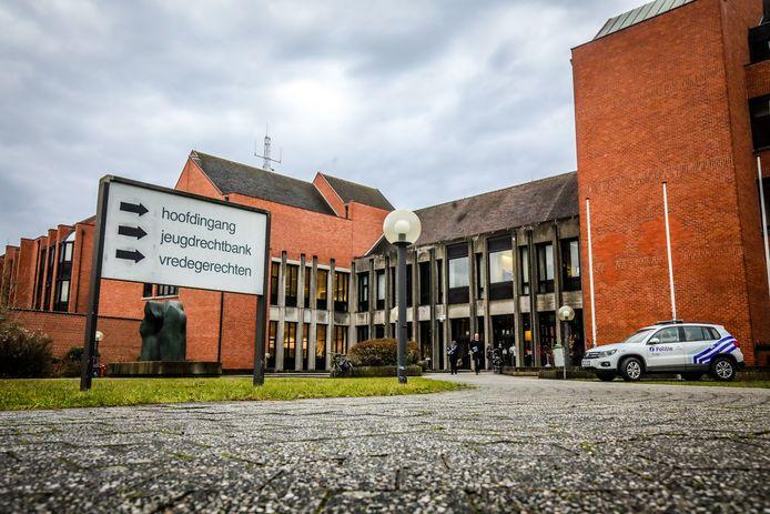 De rechtbank in Brugge.