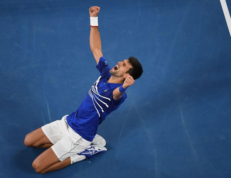 Novak Djokovic won zijn zevende Australian Open.