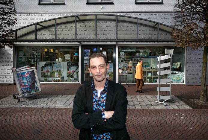 Leon Berkers van boekandel Berkers in Deurne