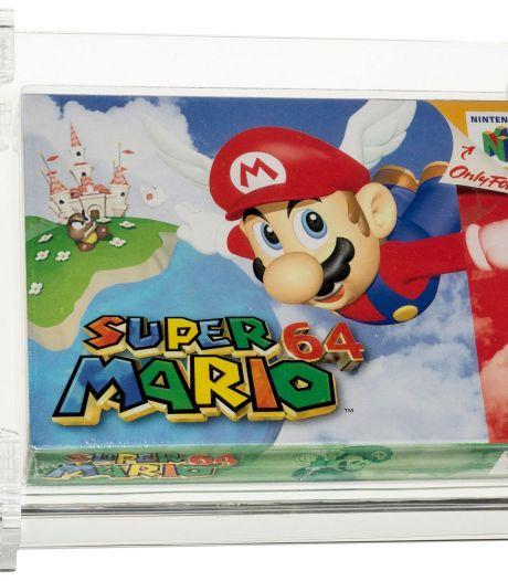 Une cartouche Super Mario 64 vendue plus de 1,3 million d'euros aux enchères, nouveau record pour un jeu vidéo