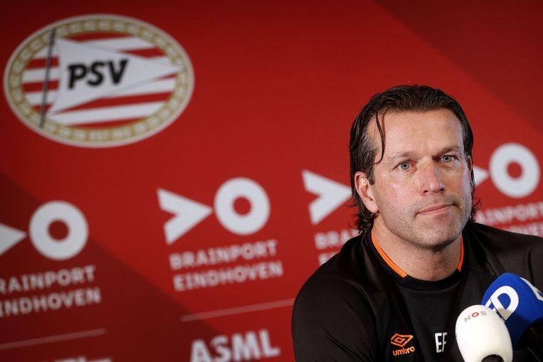 Ernest Faber: 'Je leidt geen topteam met zachte hand.' Beeld null