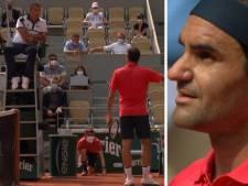 Vexé par un avertissement, Federer recadre l'arbitre