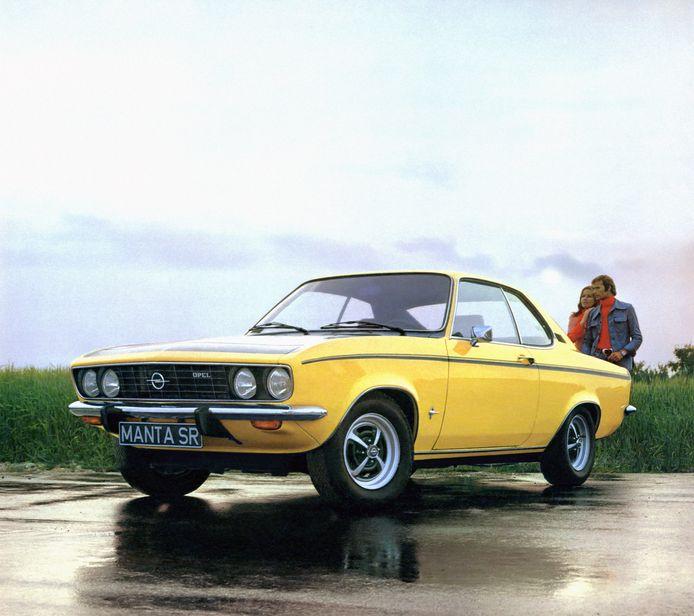 Dit was de eerste Manta uit 1970. Zijn moderne opvolger wordt dus geen lage sportwagen.