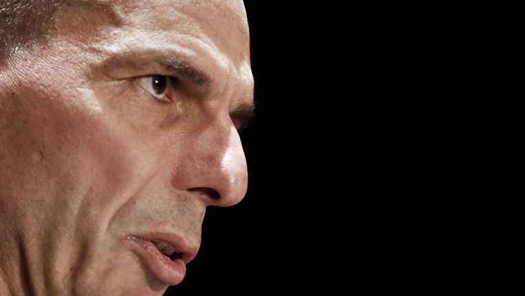 Griekse minister van Financiën, Yanis Varoufakis. Beeld Foto Alkis Konstantinidis / Reuters
