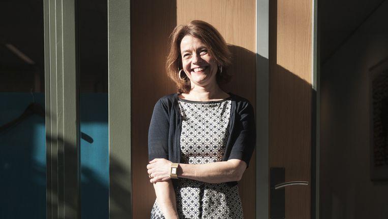 Merel van Vroonhoven: 'Mensen moeten echt aan de slag met hun financiële planning.' Beeld An-Sofie Kesteleyn / de Volkskrant