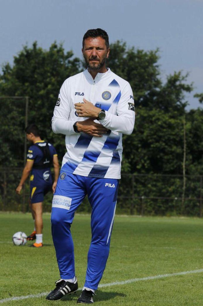 Peter van den Berg is assistent-trainer van Maccabi Tel Aviv.