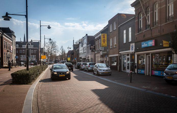 De Marktstraat in Helmond.