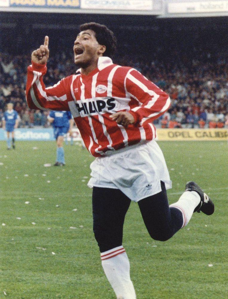 Romario, 1991. Beeld ANP