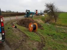 Honderden Eindhovense studenten al twee dagen geen internet door gebroken kabel 'ver weg' bij Culemborg: 'We zijn machteloos'