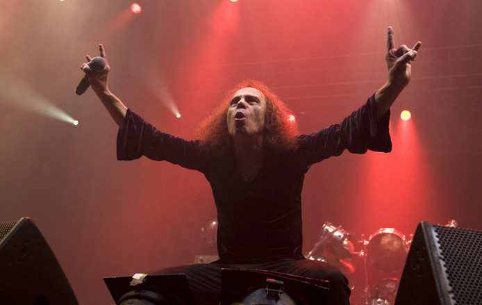 Ronnie James Dio, geen hologram