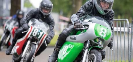 25e editie Classic Races Veenendaal: stokoude motoren op nat asfalt
