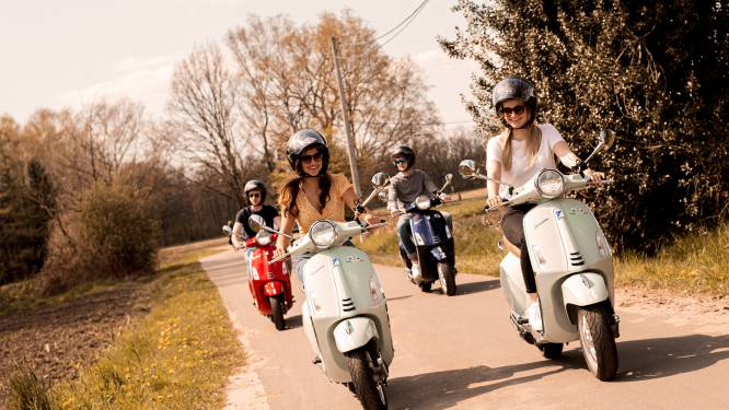 Toeristische dienst Mol lanceert Vespatour