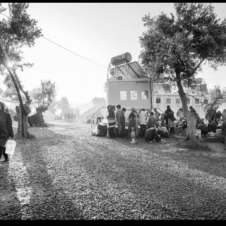 In beeld: kamp Moria, waar vluchtelingen klem zitten