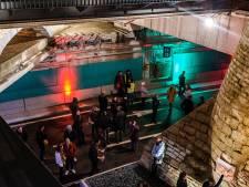 FOTOREEKS: Antwerpenaars maken kennis met nieuwe tunnels onder Operaplein