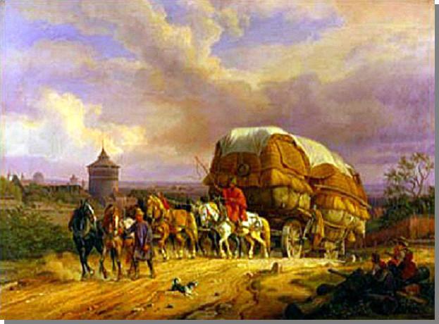 De Hessenkearls trokken vanuit de Duitse deelstaat Hessen via zogeheten Hessenwegen naar Amersfoort. De route liep onder andere langs Zutphen, Lochem en Borculo.