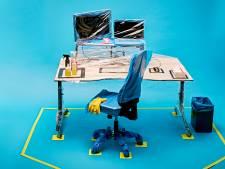 Het anti-corona kantoor: 'Flexwerkplekken worden weer vaste plekken'
