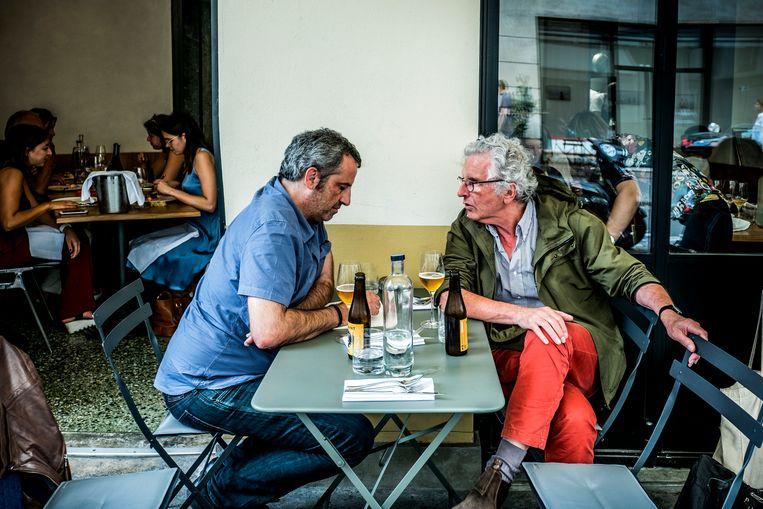 Rik Van Puymbroeck en Harry Gruyaert. Beeld Diego Franssens
