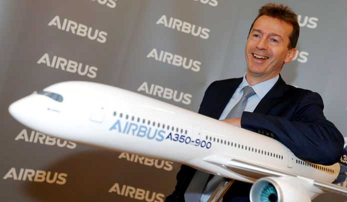 Airbus-CEO Guillaume Faury.