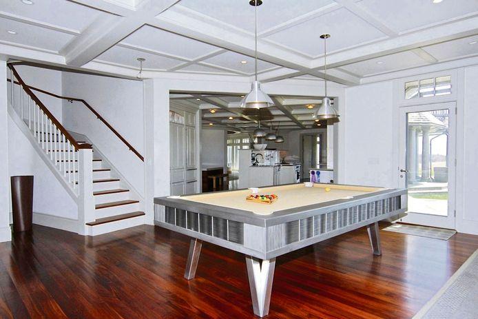 Het huis biedt ook heel wat entertainment-mogelijkheden.