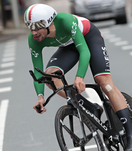 Filippo Ganna remporte le contre-la-montre du BinckBank Tour, Wellens toujours leader