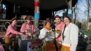 Vette Dinsdag besluit carnaval met sketch in de kiosk
