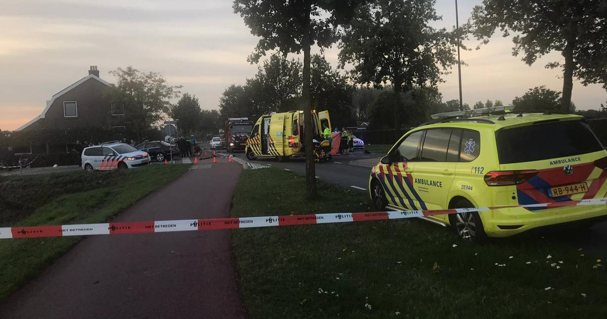 Motorrijder ernstig gewond door botsing met auto in Weurt.