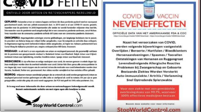 Nepnieuws in advertentie Katwijks huis-aan-huisblad