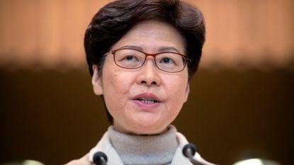 Leider Hongkong noemt intrekken uitleveringswet positief
