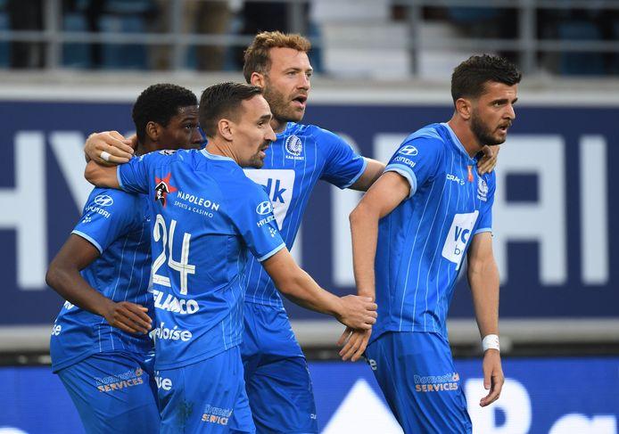 Cinquième but de la saison (toutes compétitions confondues), déjà, pour Laurent Depoitre.
